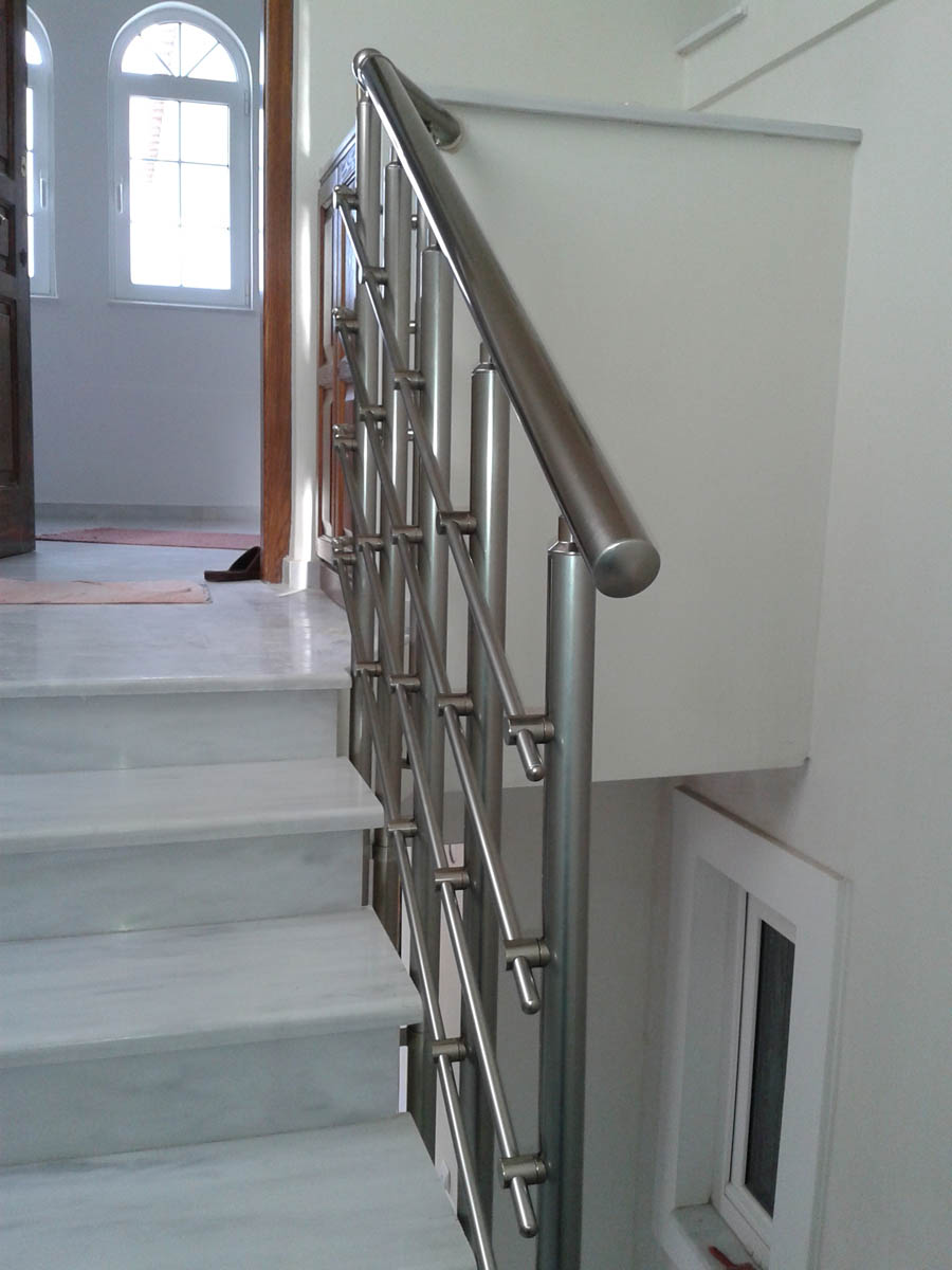 Stairs, Railings And Aluminum Constructions